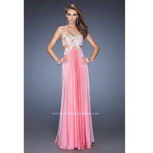 🆕 NWT - LA FEMME Prom Dress 20059 - Sherbert